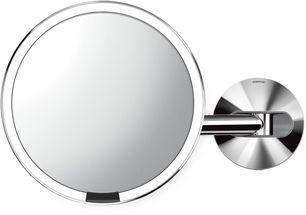 Simplehuman Sensor make up spiegel - spiegelglans - netstroom