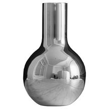 Skultuna Boule vaas - zilver - small