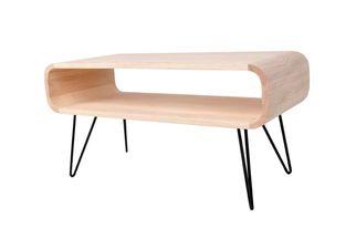 XLBoom design salontafel Metro mat zwart
