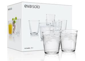 Eva Solo Glazenset Transparant 25 cl - 12 Stuks