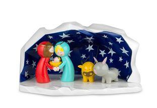 Alessi Kerststal Happy Eternity Baby