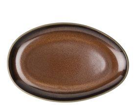 Rosenthal Junto serveerschaal 25cm - bronze