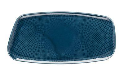 Rosenthal Junto serveerschaal 30x15cm - ocean blue