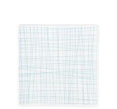 Rosenthal Mesh gebaksbordje 17x17cm - line aqua