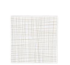 Rosenthal Mesh gebaksbordje 17x17cm - line walnut