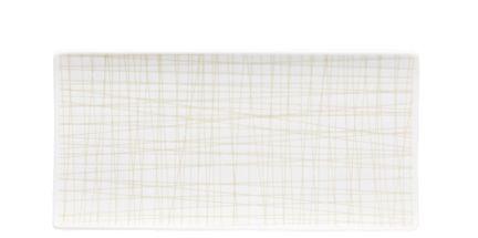 Rosenthal Mesh serveerschaal 26x13cm - line cream