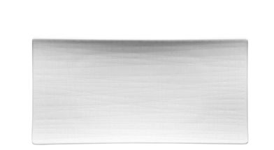 Rosenthal Mesh serveerschaal 26x13cm - wit