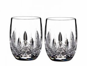 Waterford Lismore Connoisseur Whiskyglas - round - set van 2