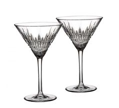 Waterford Lismore Diamond Martiniglas - set van 2