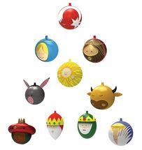 Alessi Kerstballen Set