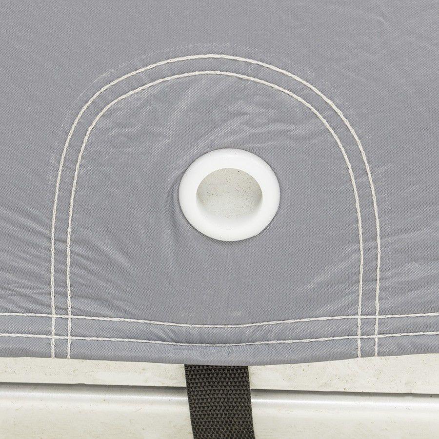 Autohoes voor buitenstalling met fleece binnenlaag - S 3
