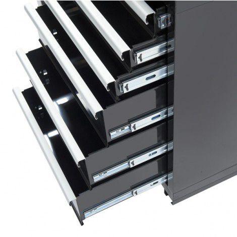Werkplaatskasten set PRO XL - Zwart 5