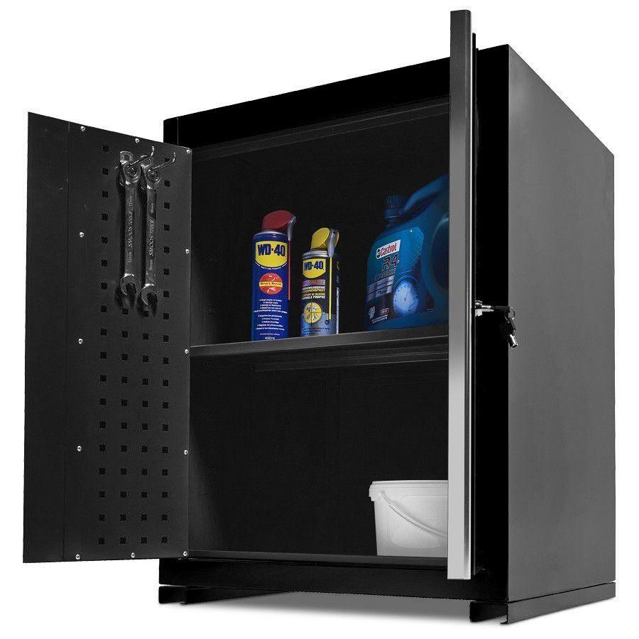 Werkplaatskasten set PRO XL - Zwart 9