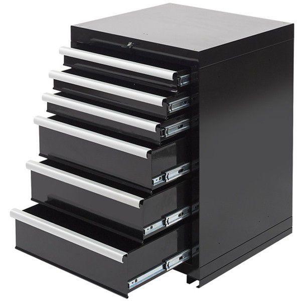 Werkplaatskasten set PRO XL - Zwart 6