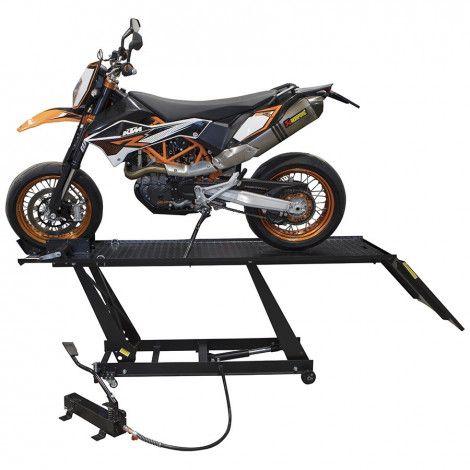 Motorheftafel hydropneumatisch met MotoGP Paddockstand set 2