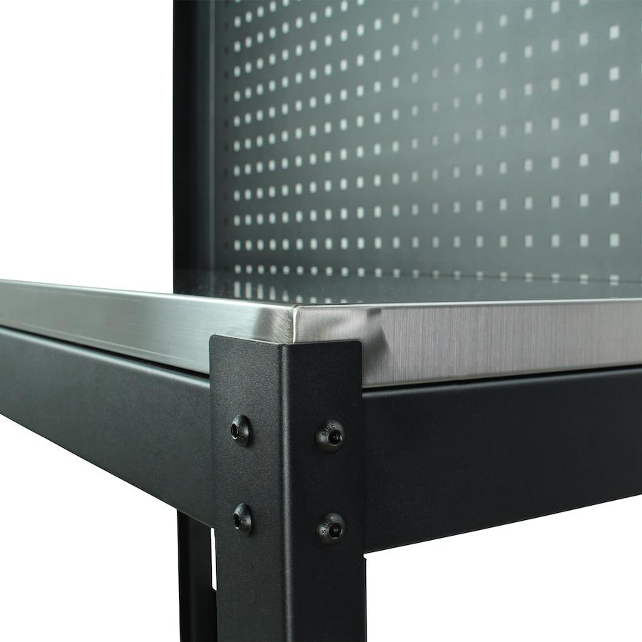 Werktafels met gatenbord PREMIUM 119 cm breed