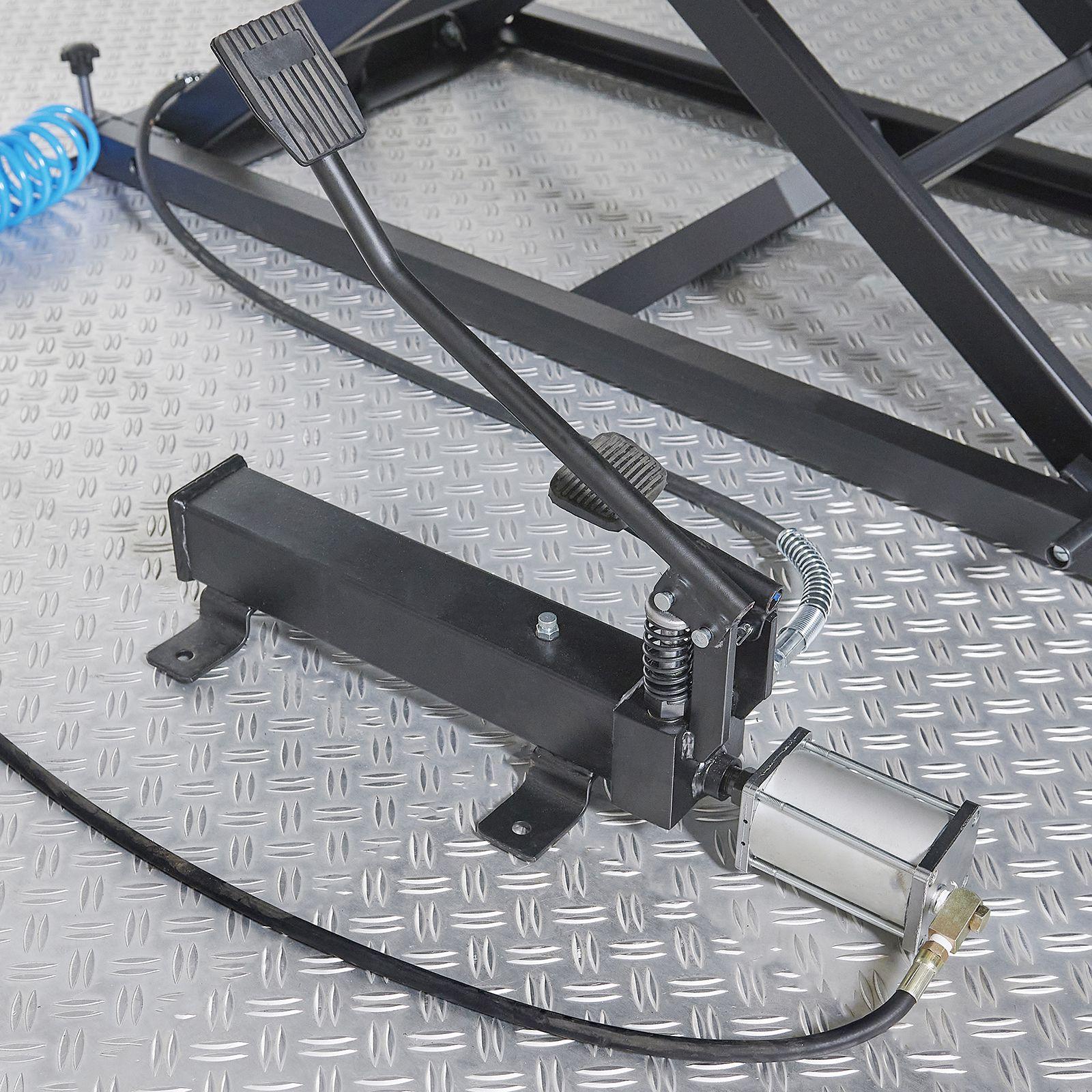 hydraulische voetbediening