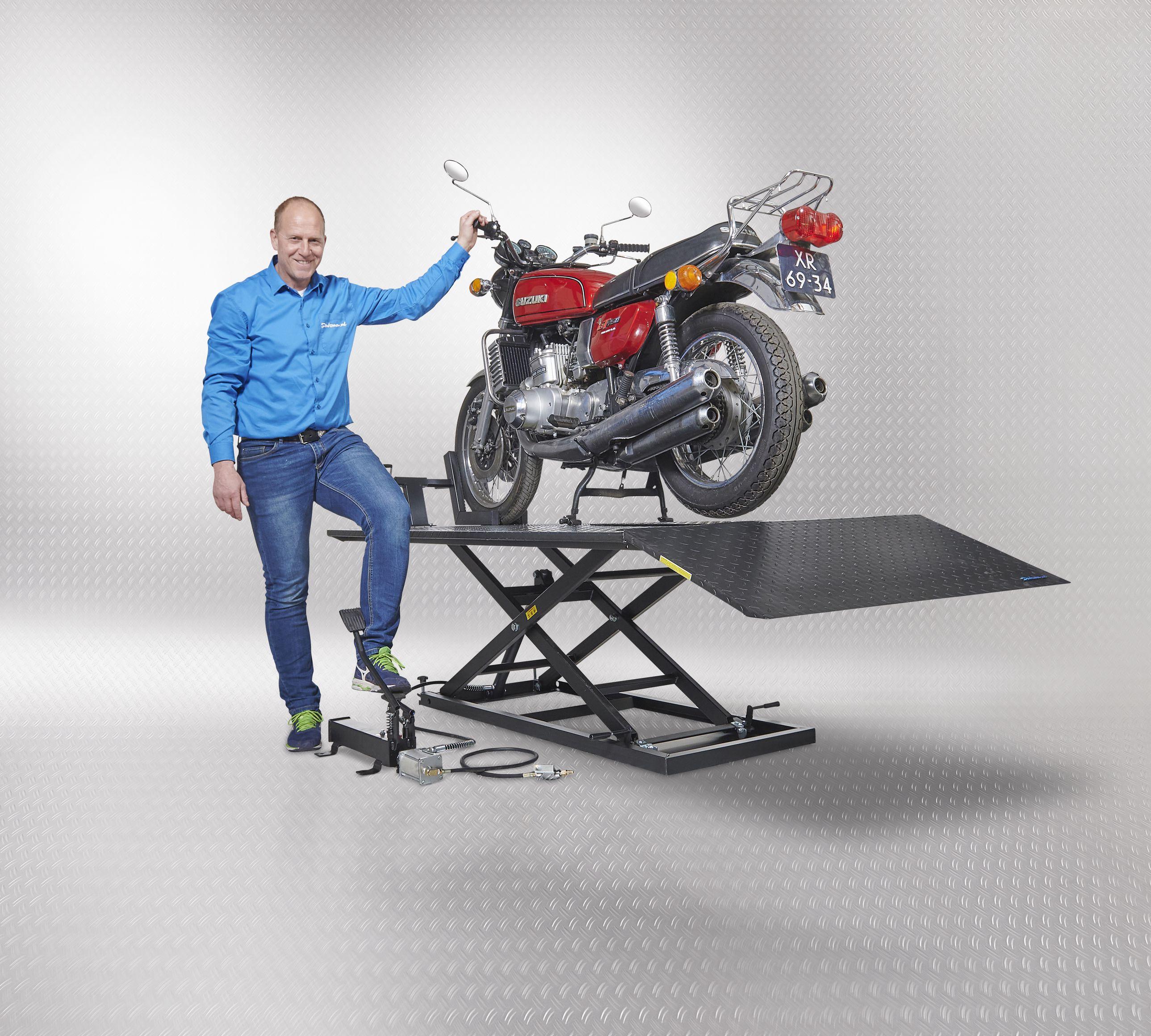 motor op lifttafel