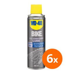 WD-40 Bike all conditions lube - 250 ml - 6 stuks 1