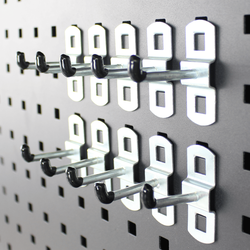 Basis set haken voor gereedschapsbord - 10 cm 1
