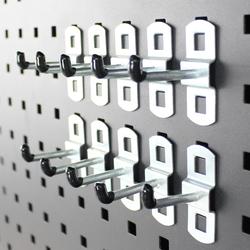 Basis set haken voor gereedschapsbord - 15 cm 1