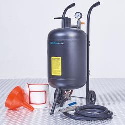 Combivoordeel: Mobiele straalketel - 45 liter + soda straalkit + Soda zak 25 kg 1
