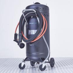 Verrijdbare straalketel met afzuiging - 80 liter 1