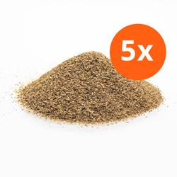 Straalgrit - voor luchtgommen - 5 zakken 1