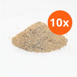 Si Silicaat straalmiddel voor beton en hout (Scorex) - 10 zakken 1
