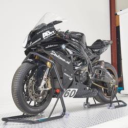 Xtreme Paddockstand set voor- en achterwiel - zwart 1
