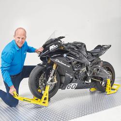 MotoGP paddockstand set - Suzuki geel 5