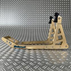 MotoGP Paddockstand voorwiel - goud 1