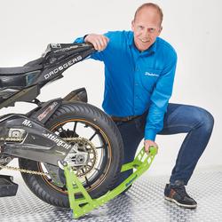 MotoGP Motorstand achterbrug Kawasaki Groen