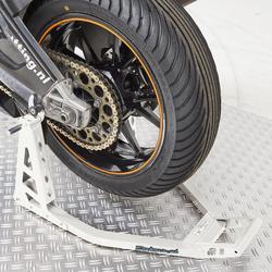 MotoGP Paddockstand achterwiel - BMW wit 1