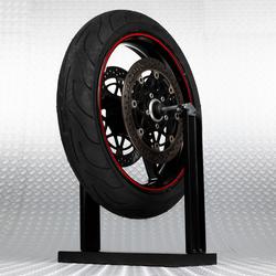 Combivoordeel: Motorbanden balanceer apparaat + Plaklood zwart 10 stuks 1