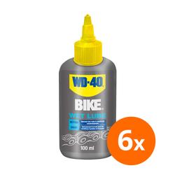 WD-40 Bike wet lube - 100 ml - 6 stuks 1