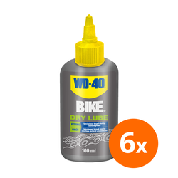 WD-40 Bike dry lube - 100 ml - 6 stuks 1