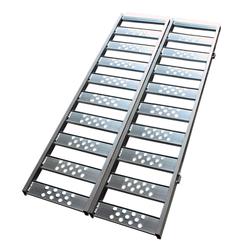 Aluminium oprijplaat inhaakbaar - 195 cm (2 stuks) 1