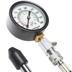 Compressieverlies checken benzine