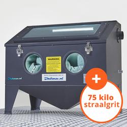 Straalcabine - 175 liter + Straalmiddel 8