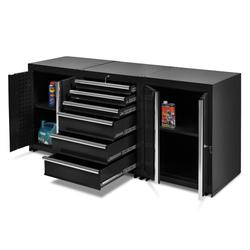 Werkplaatskasten set PRO XL - Zwart 1