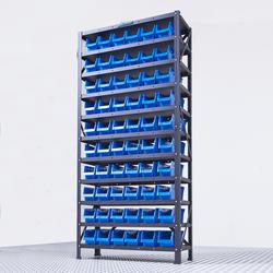Opbergbakken systeem met 60 bakken 1