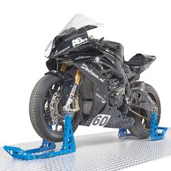 MotoGP Paddockstand set -  Yamaha blauw 1