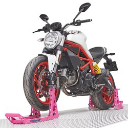 MotoGP roze paddockstand set - beauty and the beast collection 1
