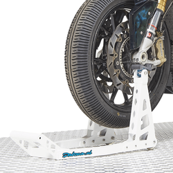 MotoGP Paddockstand voorwiel - BMW wit 1
