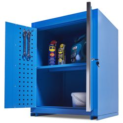 Werkplaatskast PRO met 2 deuren - blauw 1
