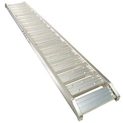 Aluminium lange rijplaat 300 cm