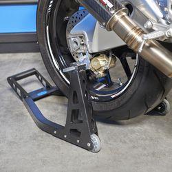 MotoGP Paddockstand achterwiel - mat zwart 2