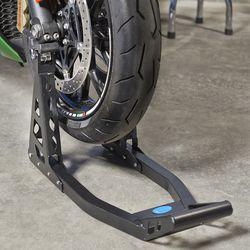 MotoGP Paddockstand voorwiel - mat zwart 1