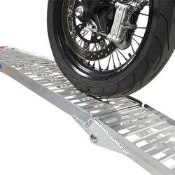 Extra versterkte oprijplank voor motors 225 cm